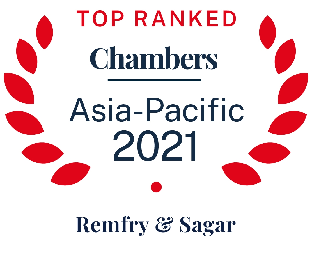 Chambers Asia-Pacific: 2016 - 2021