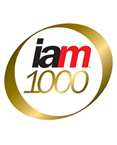 IAM Patent 1000 rankings - 2015, 2016 & 2017