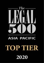 The Legal 500 Asia Pacific: 2016 - 2020