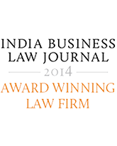 India Business Law Journal Awards 2014