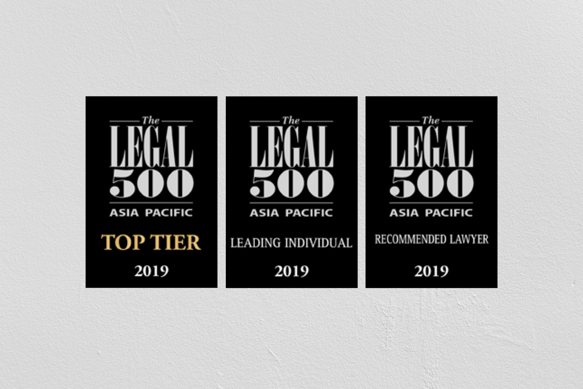 Top Tier – The LEGAL 500 Rankings, 2019