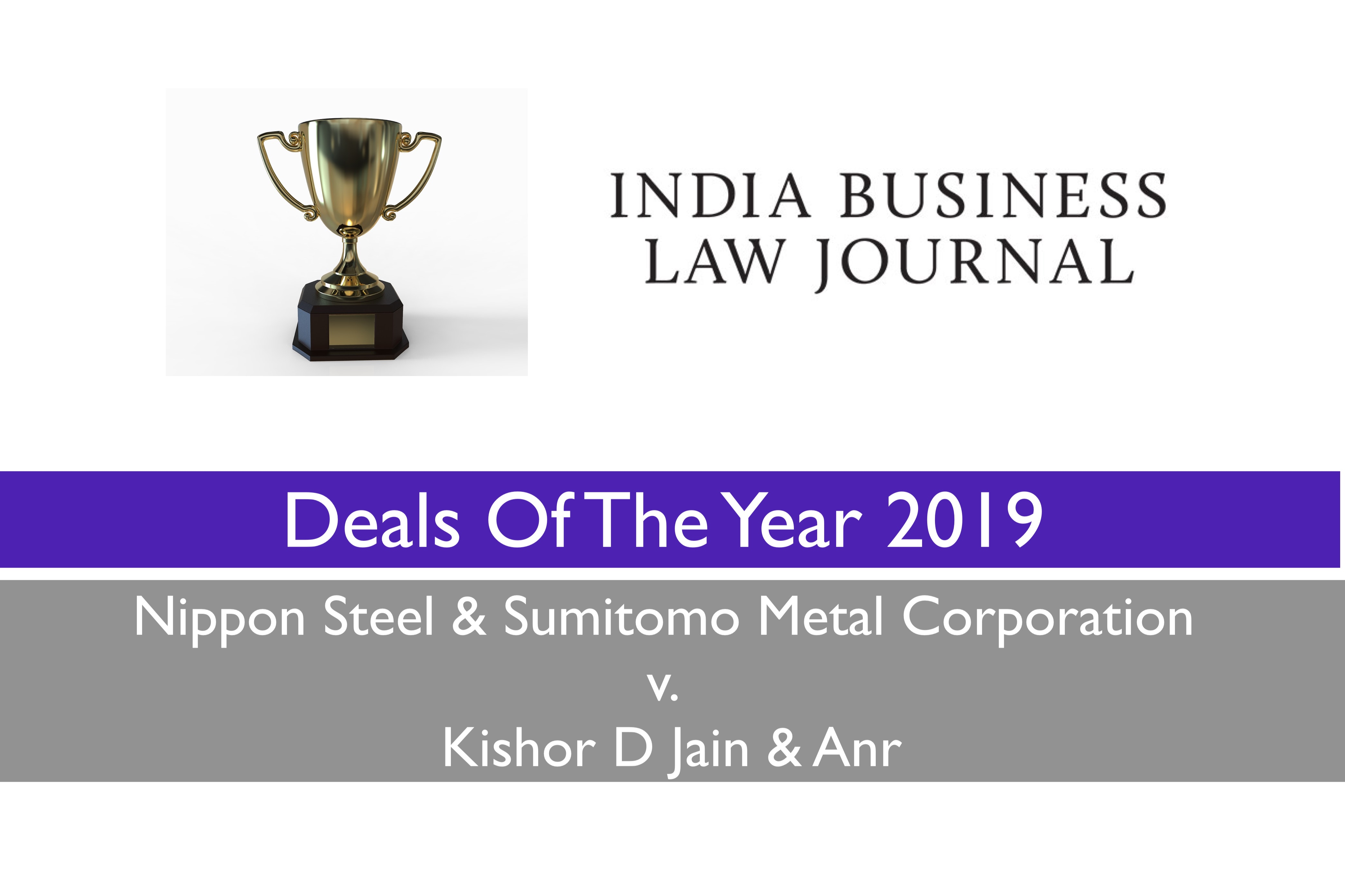 Remfry in IBLJ's 'Deals of the Year'