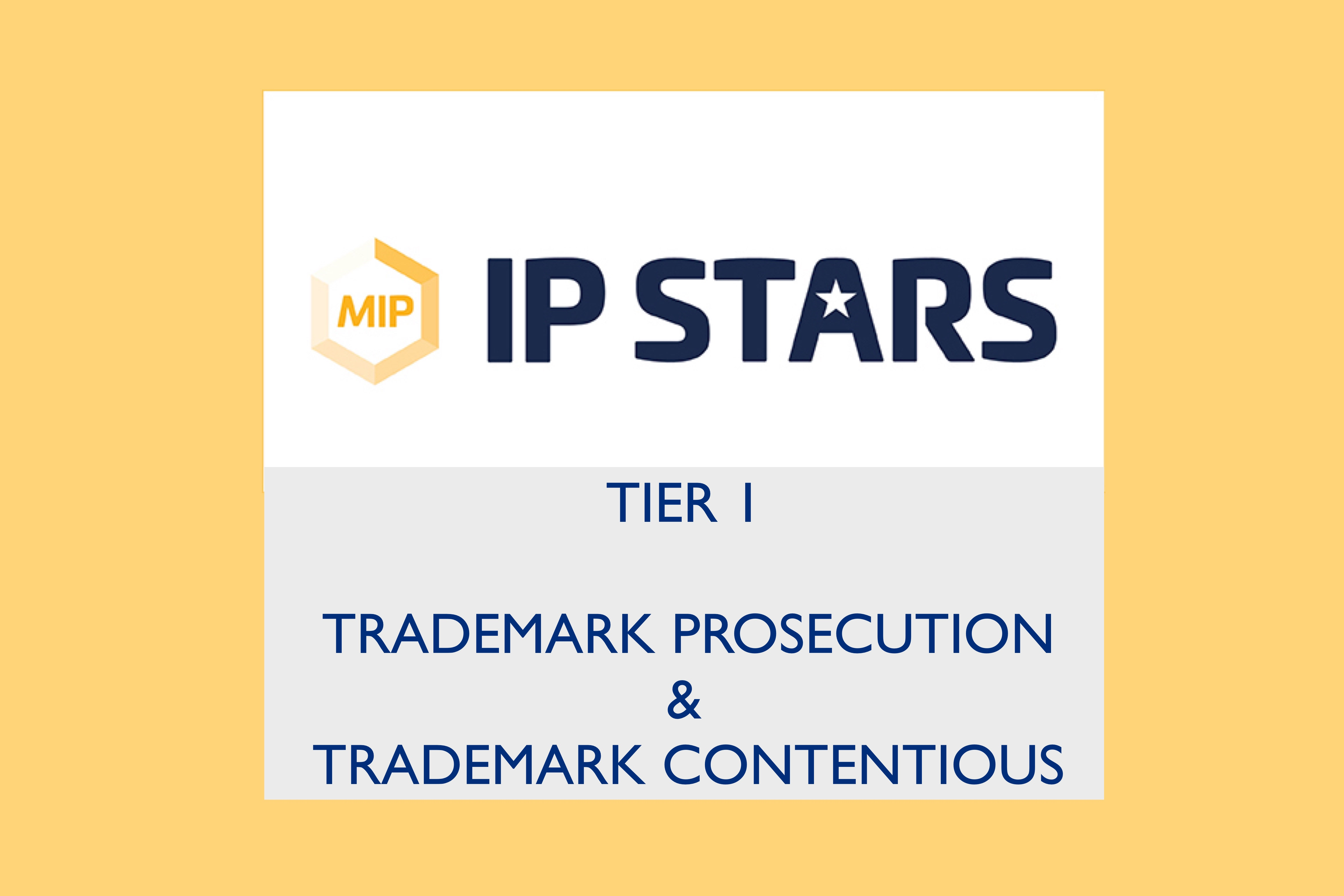 Managing IP: Remfry is Tier 1 for both TM Prosecution & Contentious