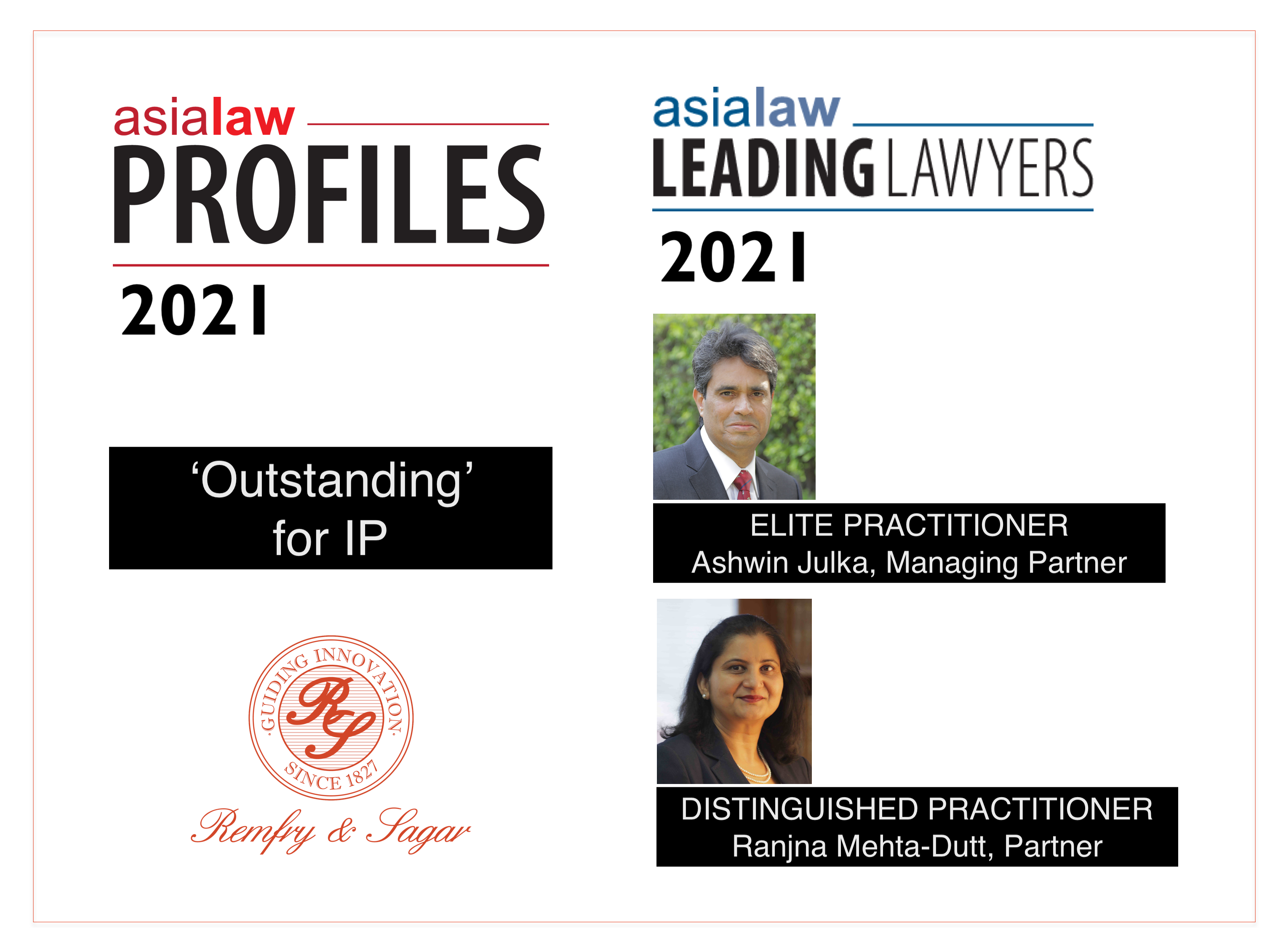 Asialaw Profiles & Leading Lawyers 2021