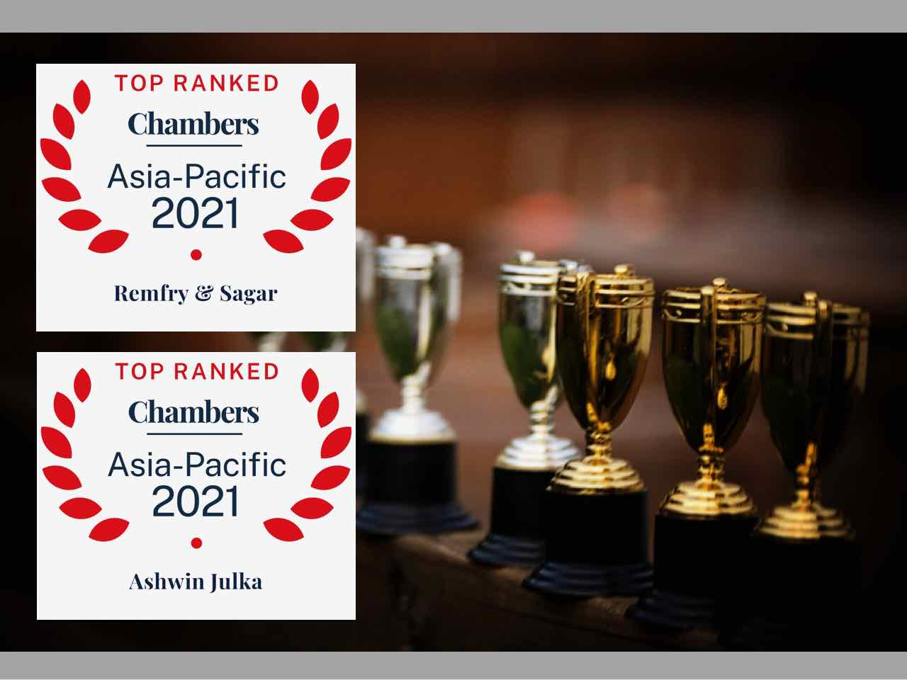 Chambers Asia-Pacific Rankings 2021